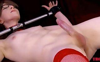 Red Stockings Slim Beauty By Troc