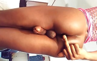Insertion and cum hands-free